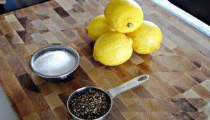 Black Pepper and Lemon Brew
