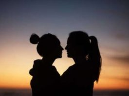 Two Young Ladies Fall in Love